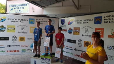 Majstor...prva medalja na trailu!